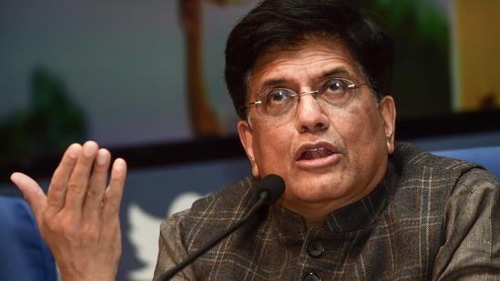 Railways minister Piyush Goyal(PTI)