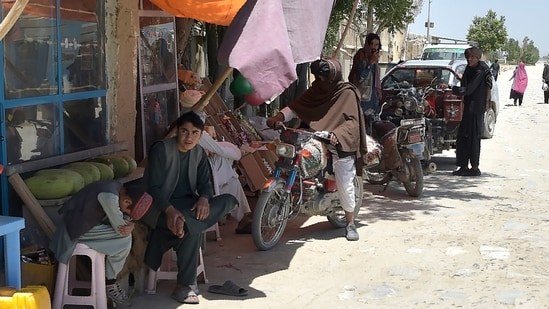 Residents in areas captured by Taliban also have to pay more for food as their risen substantially, (AFP File Photo)