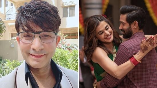 Kamaal R Khan aka KRK called Haseena Dillruba a 'C grade' film featuring 'C grade actors'.