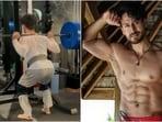 Tiger Shroff nails 180kg barbell squats, Disha Patani's sister is impressed(Instagram/@tigerjackieshroff)