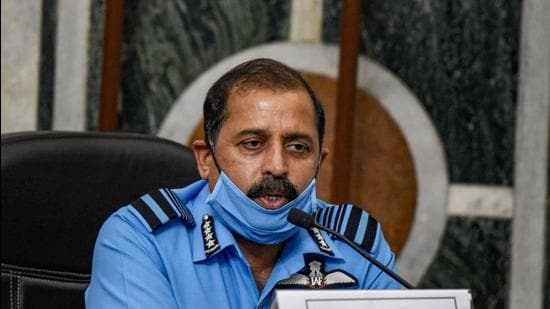 """Air Chief Marshal RKS Bhadauria, was quick to react and categorically said the service did not have a """"supportive role"""", and airpower had a """"huge role"""" to play (PTI)"""