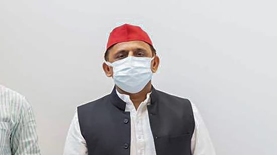 Akhilesh criticised the BJP-led government in both states saying that both suffered from law and order problems.(PTI Photo)