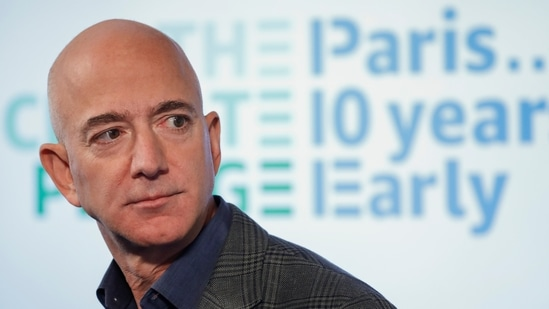 Jeff Bezos is all set to leave an enduring legacy after transforming Amazon from an online bookseller into one of the world's most powerful corporations.(AP)
