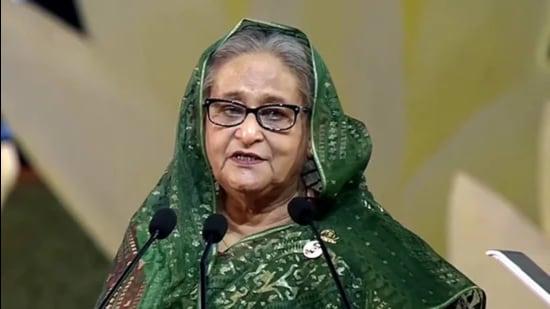 Bangladesh Prime Minister Sheikh Hasina. (File photo)
