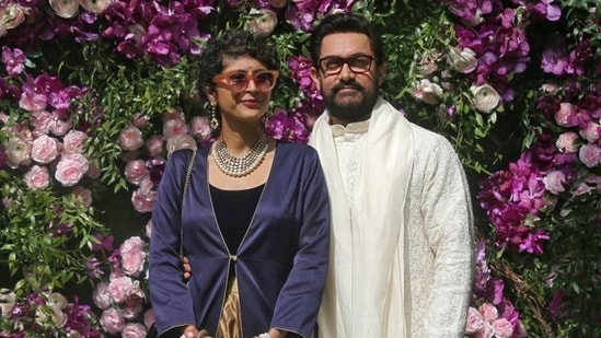 Actor Aamir Khan and his wife Kiran Rao have announced their divorce,(REUTERS)