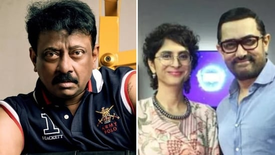 Ram Gopal Varma wished Aamir Khan and Kiran Rao a 'very Rangeela' life.