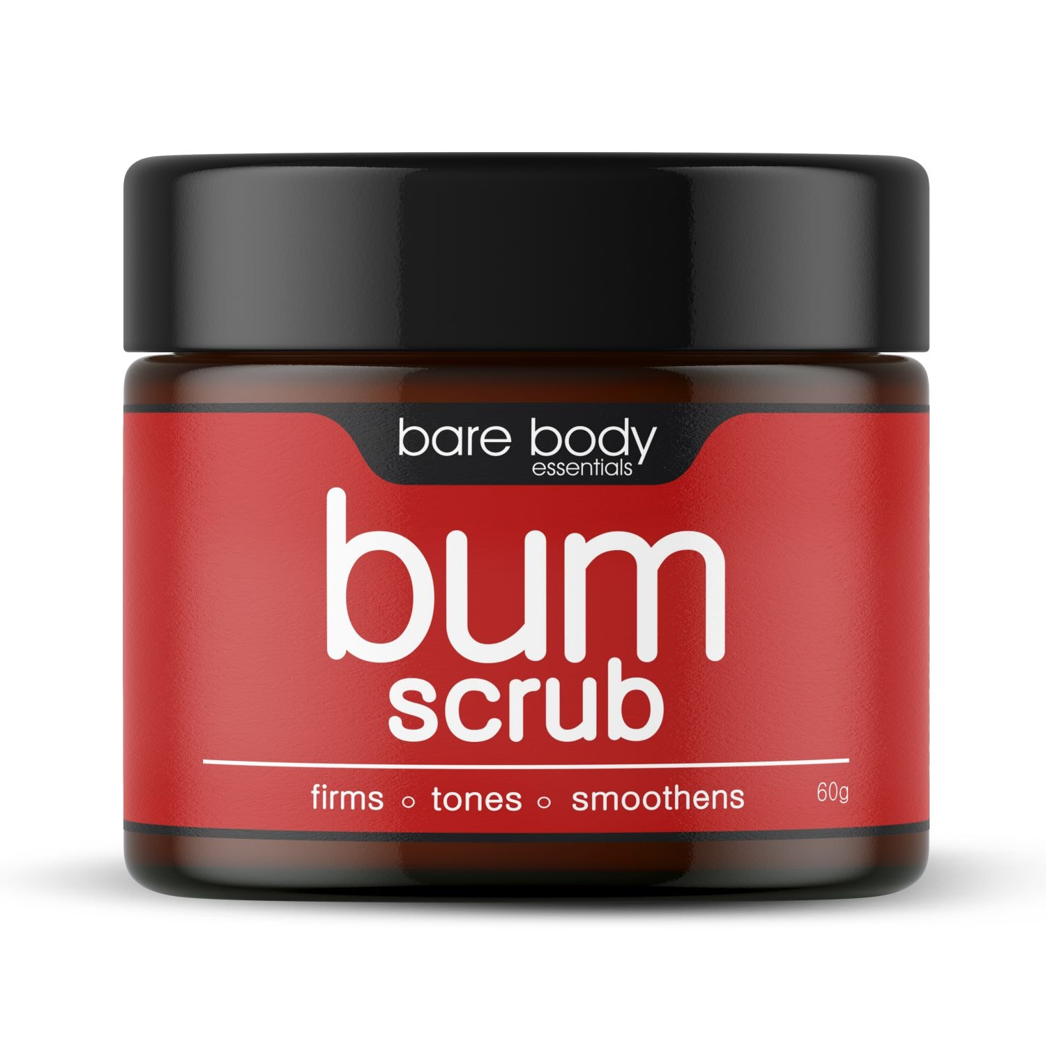This scrub makes your bum look and feel good