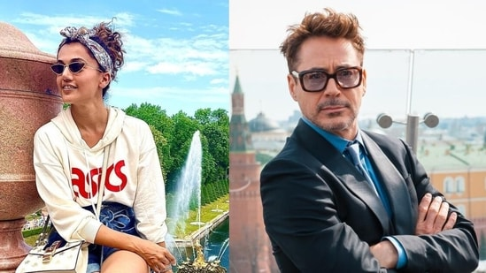 Taapsee Pannu says she's DM'd Robert Downey Jr.