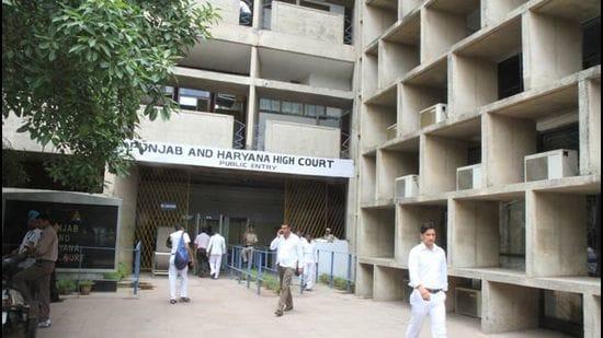 Punjab and Haryana High Court . (HT Photo)