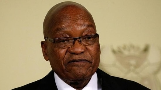 The Constitutional Court on Saturday agreed to hear an application by Zuma to rescind the judgement where the former president cited his age, health condition and other unspecified reasons.(Reuters file photo)