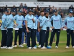 File image of England cricketers(AP)