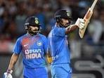 India captain Virat Kohli and KL Rahul