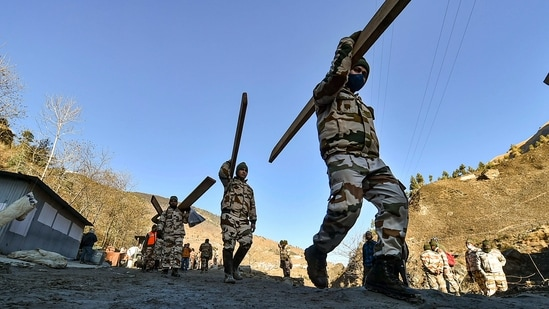 ITBP Recruitment: The application process for begun for constable under sports quota(Arun Sharma / PTI)