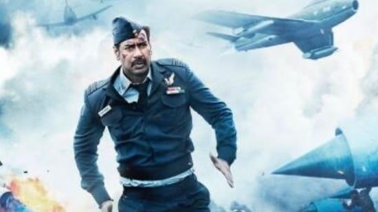 Ajay Devgn plays Squadron Leader Vijay Karnik in the film.