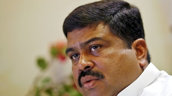Son of former Union minister of state for surface transport, Debendra Pradhan, Dharmendra was Petroleum Minister in the previous Cabinet.(REUTERS/File)