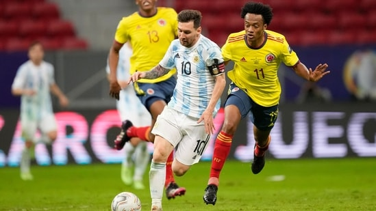 Argentina beat Colombia to reach Copa America final against Brazil |  Football News - Hindustan Times