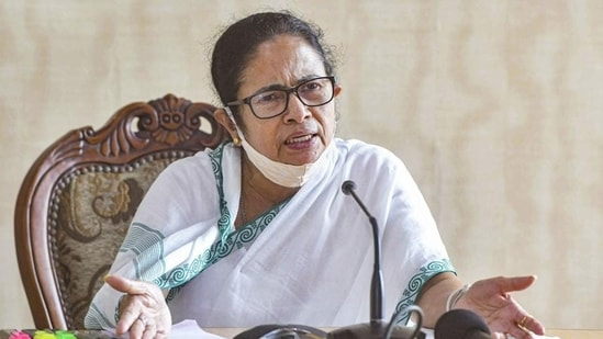 "The West Bengal chief minister Mamata Banerjee said that PM Modi should do ""petrol and vaccine ki baat"" instead of Mann ki baat."