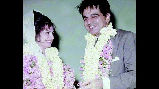 Saira Banu and Dilip Kumar were married for 54 years.