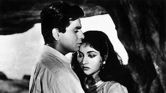 Dilip Kumar in a still from Madhumati.