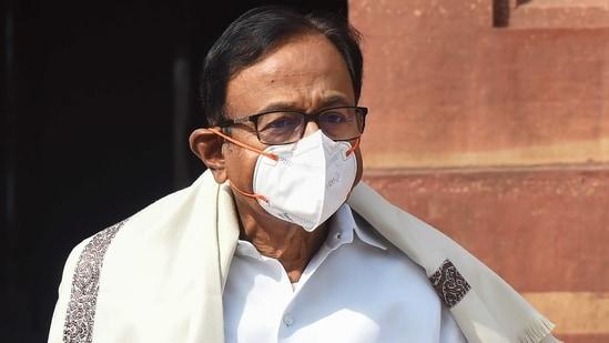 Congress leader P Chidambaram.(PTI)