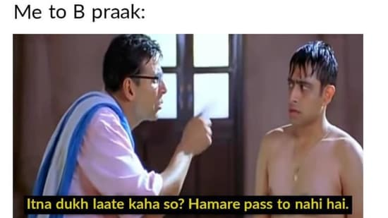 Akshay Kumar has shared a bunch of memes on his new music video.