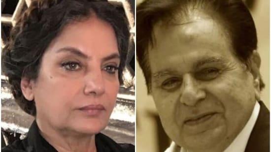 Shabana Azmi paid rich tributes to Dilip Kumar.