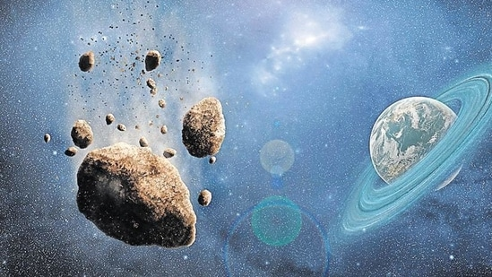 When it arrives a year later, the NASA spacecraft will crash-land on the smaller of the two rocky bodies to see how much the asteroid's trajectory changes.