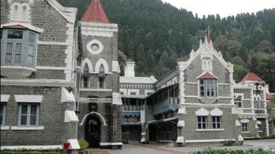 Uttarakhand high court in Nainital. (HT archive)
