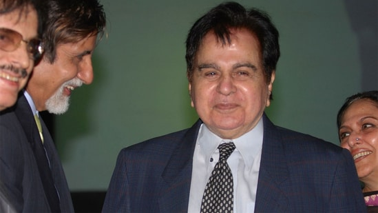 Dilip Kumar in 2005. (Getty Images)