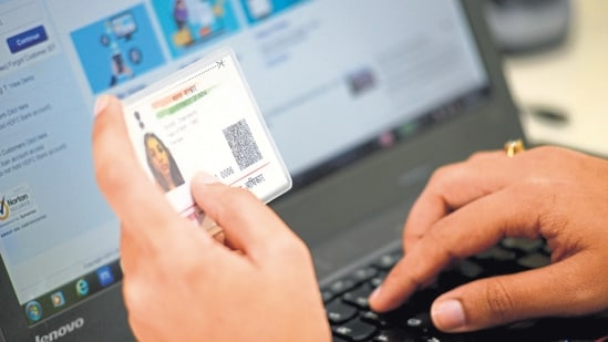 As per the information given by UIDAI, the facility of address validation letter has been discontinued till further orders.(File Photo / Representational Image)