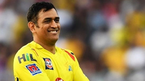MS Dhoni will return for CSK later this year when the IPL resumes. (CSK/Twitter)