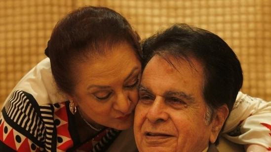 Dilip Kumar has died at the age of 98.(Vijayanand Gupta/ HT Photo)