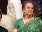 Actor couple Saira Bano and Dilip Kumar.(HT FILE)