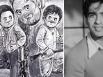 Amul honured late actor Dilip Kumar with a topical,