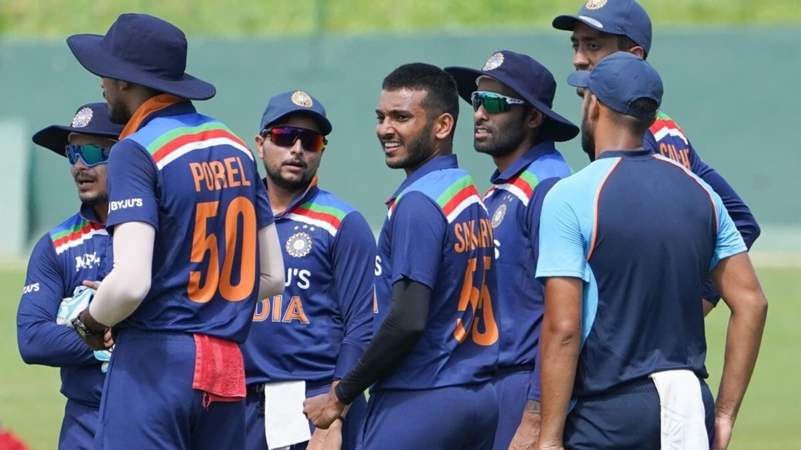 Saini dismisses Padikkal with a peach, SLC shares highlights of India's 2nd  intra-squad match simulation - Watch video   Cricket - Hindustan Times