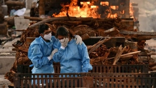 The WHO said that most new Covid-19 cases were reported in Brazil and India - though weekly case counts in those two countries were declining.(REUTERS / Samuel Rajkumar)