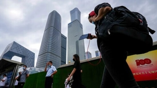Chinese authorities had banned construction of buildings taller than 500 meters in cities like Beijing. (AP Photo/Andy Wong)(AP)