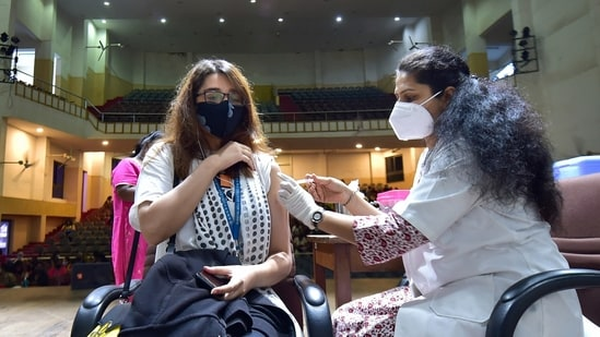 The research began in March 2020 and in its course, the scientists studied almost 50,000 infected people and two million uninfected.(PTI)