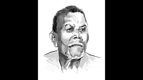 Dalit author from Maharashtra, Uttam Bandu Tupe. (Mohit Suneja)