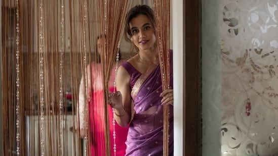 Taapsee Pannu in a still from Haseen Dillruba.