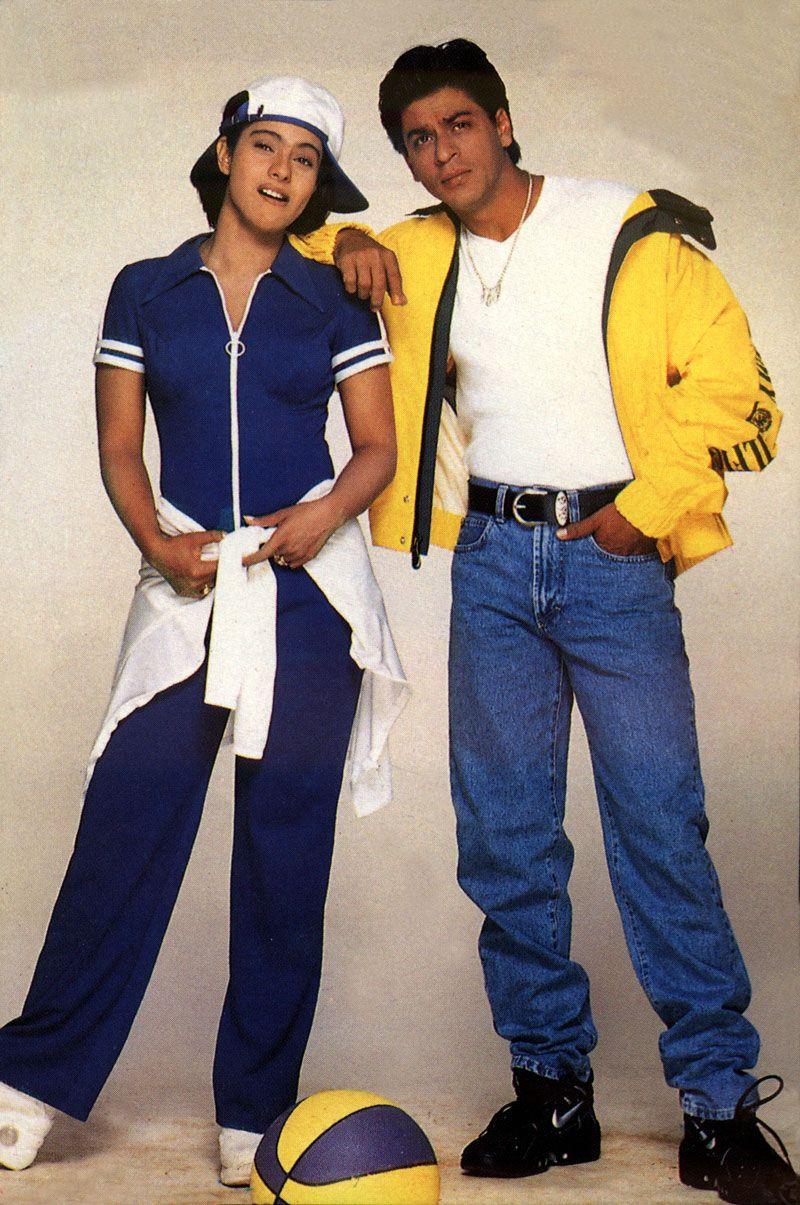 Kajol and Shah Rukh Khan (Pinterest)