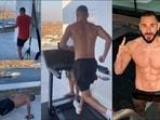 France striker Karim Benzema gives a glimpse of his inspiring easy workout(Instagram/karimbenzema)