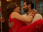 Vikrant Massey and Taapsee Pannu in Haseen Dillruba.