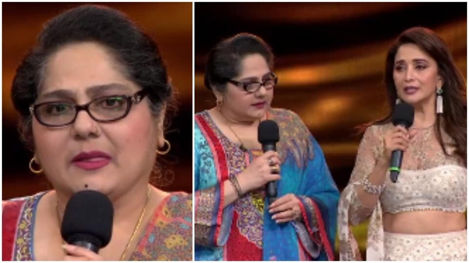 Shagufta Ali gets aid of ₹5 lakh from Madhuri Dixit on behalf of Dance Deewane team, says 'I have no words' | Bollywood - Hindustan Times