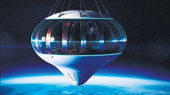 A ticket to go into orbit on the private Space Perspective vessel costs $125,000, or about <span class='webrupee'>₹</span>93 lakh.