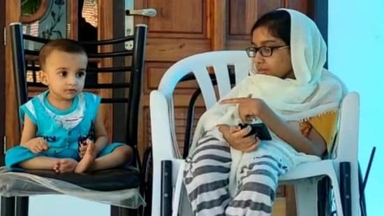 18-month-old Muhammad, whose 15-year-old sister also suffers from Spinal Muscular Atrophy, will have to be administered the medicine before he attains the age of two. (HT photo)