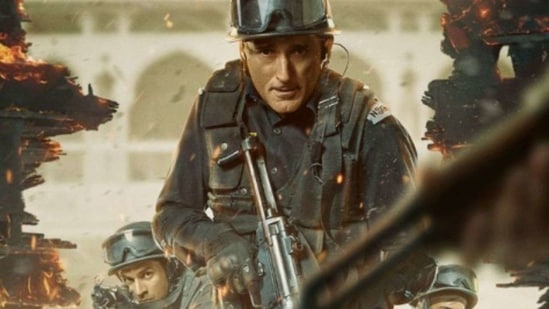State of Siege Temple Attack movie review: Akshaye Khanna plays a soldier in the movie.