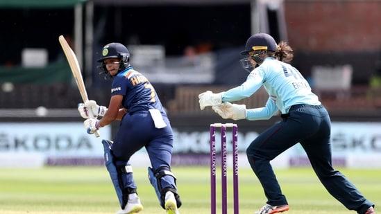 India Women vs England Women 1st T20I Live Streaming(AP)