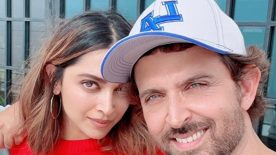 Deepika Padukone and Hrithik Roshan will be seen together in Fighter.