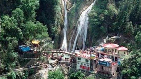 Kempty Fall at Mussoorie. (File photo)